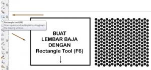 Membuat Efek Steel Perforated Sheet Dengan CorelDRAW 4