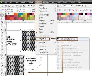 Membuat Efek Steel Perforated Sheet Dengan CorelDRAW 5
