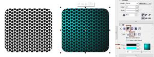 Membuat Efek Steel Perforated Sheet Dengan CorelDRAW 6