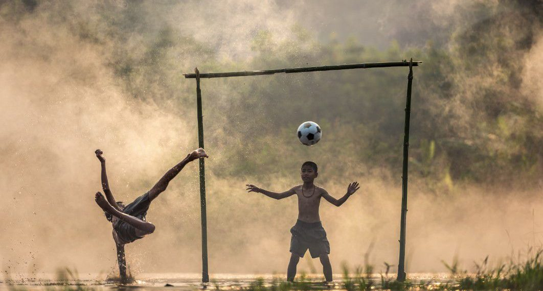 6 Village Football Rules, not FIFA